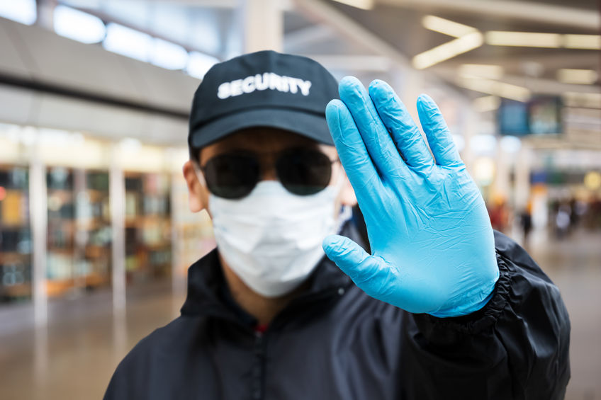Security Guard During the Pandemic